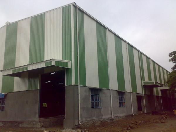 Prathamesh Enterprises Leading Industrial Roofing